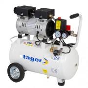 Compresor de aer STAGER HM24JW-0.55, 230 V, 0.5 kW, 110 l/min, 8 bar, 24 l