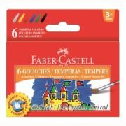 Guase 6 culori 15ML Faber-Castell