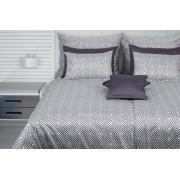 1 Glamonde Jemná elegance Spiro šedá 70×90 cm 140×220 cm zipové