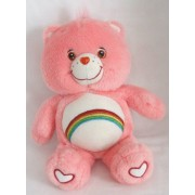 "Care Bears Glow A Lot 12"" Cheer Bear Plush"