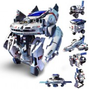 7-in-1 Solar Rechargeable Space Fleet Station