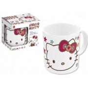 Hello Kitty mintás porcelán bögre