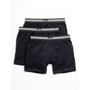 Jockey Boxer-Shorts im 3er-Pack Jockey schwarz