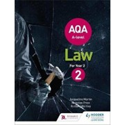 AQA A-level Law for Year 2, Paperback/Jacqueline Martin