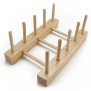 Wooden Puzzle Display Stand - Stores Up to 4 Wood Puzzles!