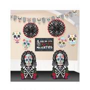 Vegaoo Dia de los Muertos-dekorationskit till Halloween One-size