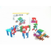 Longyeah Multicolor Building Blocks To Build Frog And Other Animals - Educational Toys for Kids - ABS virgin Plastic Material Kids Toy 5508