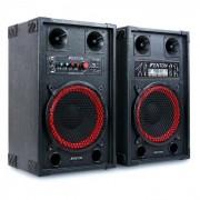 Fenton SPB-10 Pack Actif Enceintes Sono Subwoofer 25cm Bluetooth 600W