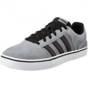 adidas neo Men's Hawthorn ST Grey Cblack and Ftwwht Sneakers