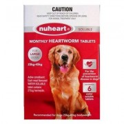 Nuheart Generic Heartgard For Large Dogs 51-100lbs (Red) 6 Tablet