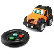 BB Junior Play and Go My First R/C Jeep Wrangler Vehicle (Black)