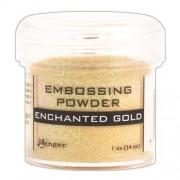 Embossing Powder/Enchanted Gold 1oz Jar