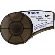 Brady M21-500-423 / 110897, polyester benzi, 12.70 mm x 6.40 m