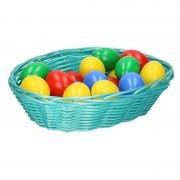 Shoppartners Paasdecoratie mandje met eieren 20 cm