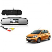 4.3 Inch Rear View TFT LCD Monitor Mirror Screen Display For Reverse Parking and Rear View For Tata Tiago