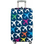 Pokrowiec na walizkę LOQI Airport Airplane