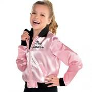 amscan Grasa Pink Chamarra para Mujer (Talla estándar)