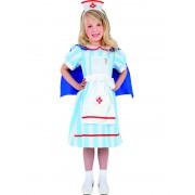 Costum Carnaval Copii Asistenta Medicala Vintage