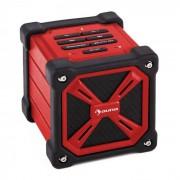 Auna TRK-861 Enceinte Bluetooth mobile batterie -rouge