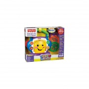Reproductor de Cd Fisher Price Canta Conmigo Rie y Aprende-Multicolor