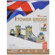 Puzzle 3D Tower Bridge, 120 piese, Cubic Fun