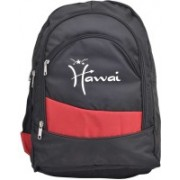 Hawai 15.6 inch Laptop Backpack(Black, Red)