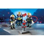 Set de constructii Playmobil - Echipa De Pompieri