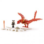 Dreamworks Dragons Dragons: Race to the Edge - Hookfang & Snotlout Armored Dragon
