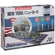 Yanoman 4 D City Scape Time Puzzle New York (700 Piece Puzzle)