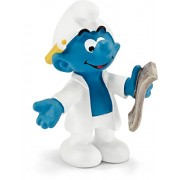 Schleich North America Researcher Smurf Toy Figure