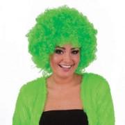 Peruca petrecere creata hippie verde - Cod 57352