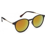 Get Glamr Cat-eye Sunglasses(Green)