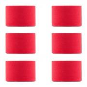 Bondies Fita de Cinesiologia Conjunto de 6 Rolos de Banda Elástica 5 m