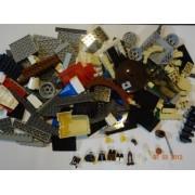 Lego Big Bulk Lot - 1 Pound NEW Bricks, 3 Mini Figures!