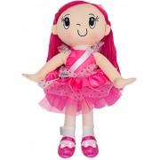 "My Friend Huggles Little ""h"" Doll, Soft Take Along Doll, Bia / Virtue: Fair"