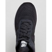 New Balance 574 Mesh Trainers In Black MTL574NC - Black