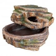 TRIXIE 26x20x13 cm poliészter gyantás kígyó barlang