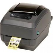 Zebra Tiskárna štítků termotransferová Zebra GK420T, Šířka etikety (max.): 110 mm, USB, LAN