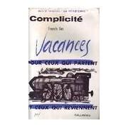 Complicité - Francis Iles - Livre