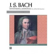 Alfred Publishing Co., Inc. Bach -- Inventions & Sinfonias: Two- & Three-Part Inventions
