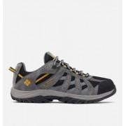 Columbia Chaussure De Randonnée Imperméable Canyon Point - Homme Noir, Squash 42 EU