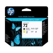 HP 72 Printhead - Matte Black, Yellow