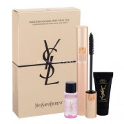 Yves Saint Laurent Turn On The Volume Kit 7,5ml за Жени - спирала Volume Effet Faux Cils 7,5 ml + продукт за лице Top Secrets Exp.Makeup Remover 8 ml + грижа за кожата Top Secrets Instant Moisture Glow 5 ml Нюанс - 1 Black