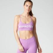 Myprotein Reggiseno Sportivo con Logo - L - Viola
