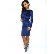Petra Dress-albastra