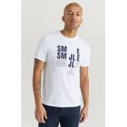 J.Lindeberg T-shirt Bridge Tee-S Jersey Vit