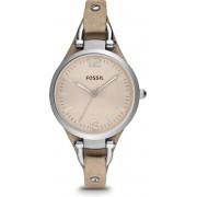Fossil Zilverkleurig Vrouwen Horloge ES2830