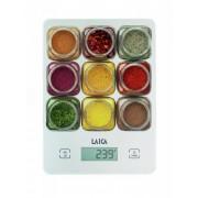 Laica KS1040 Digitális konyhamérleg 5Kg Fűszertartók minta
