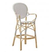 Sika-Design Isabell barstol med karm vit, Sika-design