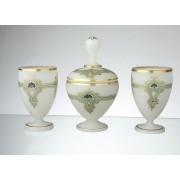 Souprava z alabastrového skla